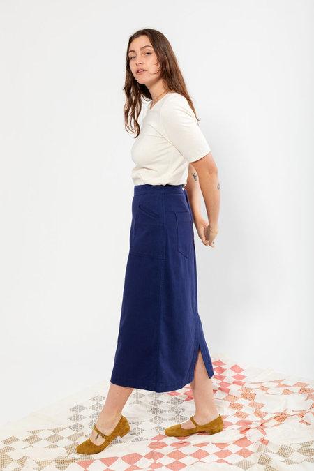 Carleen Birdie Skirt - Cobalt
