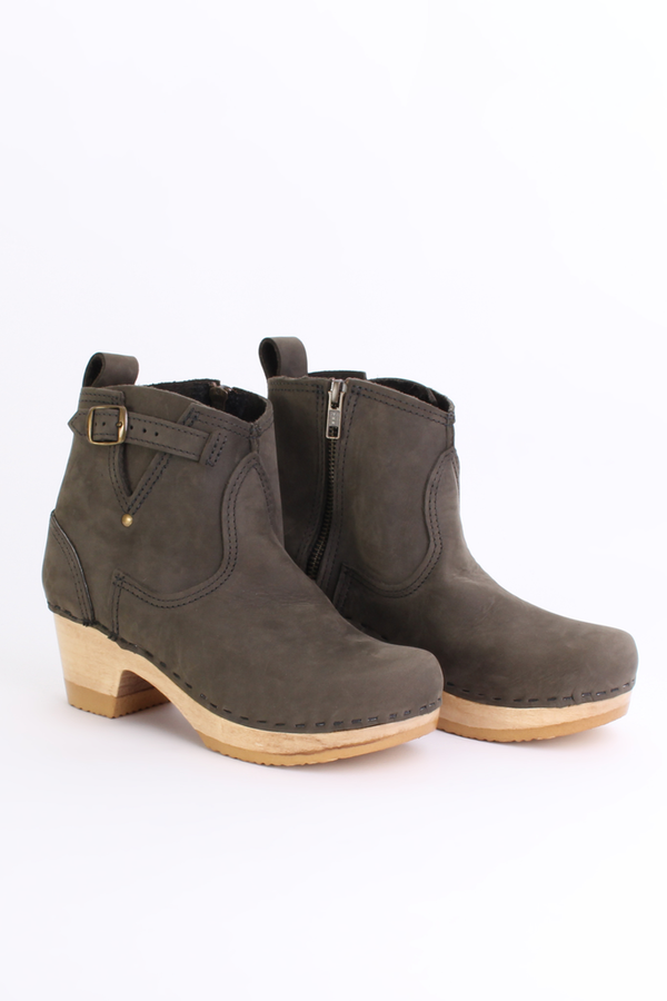 """No.6 Store 5"""" buckle boot in storm"""