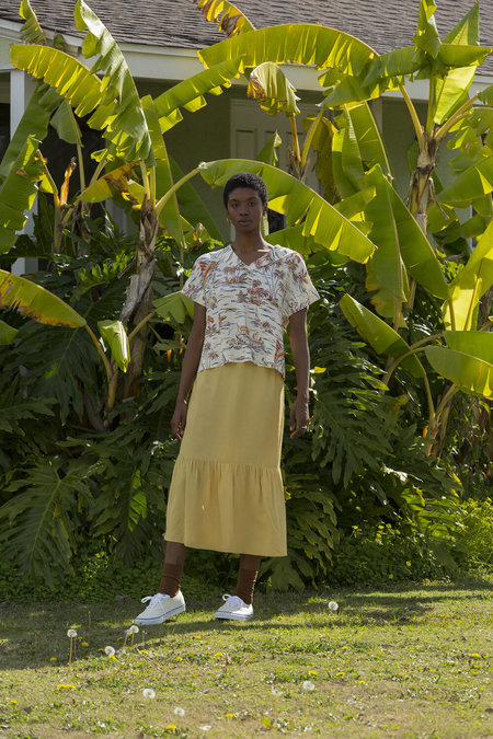 Carleen Sea Breeze Shirt - Paradise