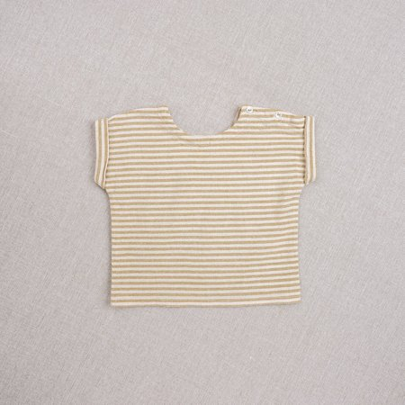 Kids Ketiketa Max Top - Ochre Stripe