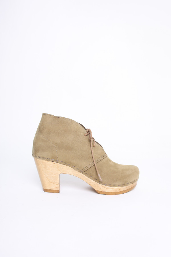 No.6 Store Clogs Garcia boot in string