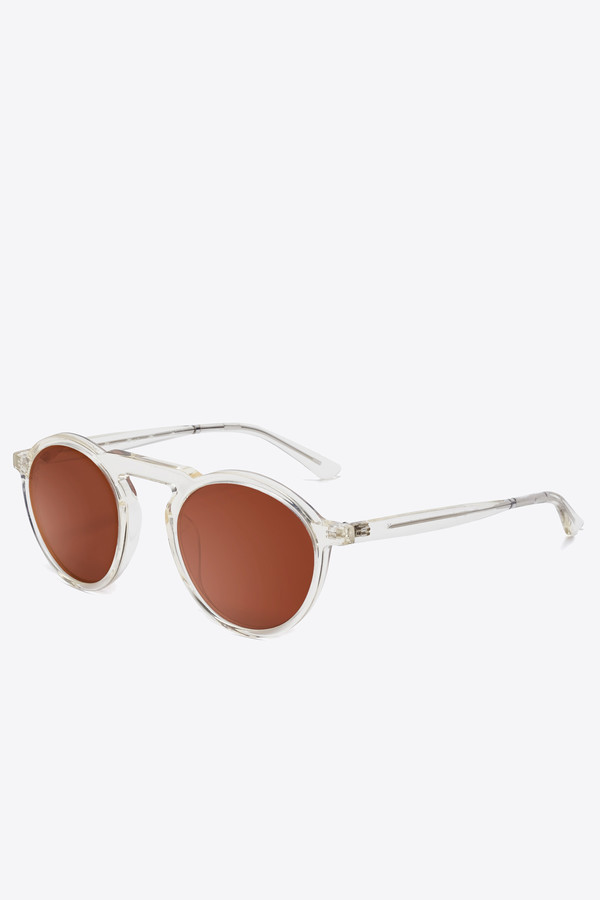 Smoke x Mirrors Letter sunglasses in vintage crystal