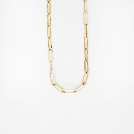 Looma Small Link Chain - 14k Yellow Gold