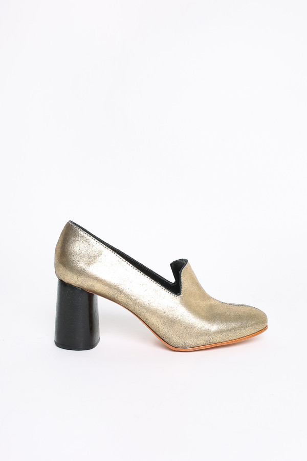 Rachel Comey May heel in Old Gold