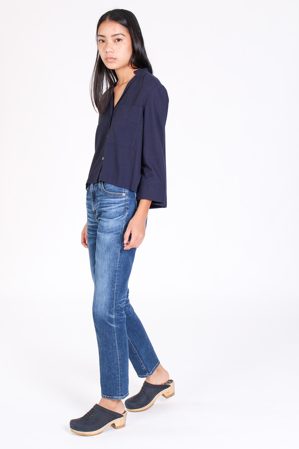 AG Jeans Phoebe high rise jean in 10 year wick
