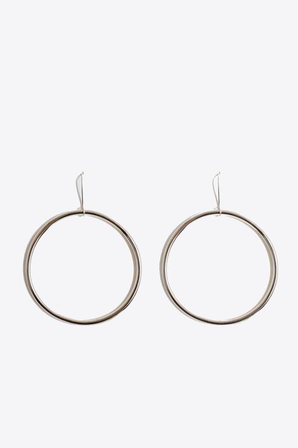 The Things We Keep Sanjuu hoop earrings in sterling silver
