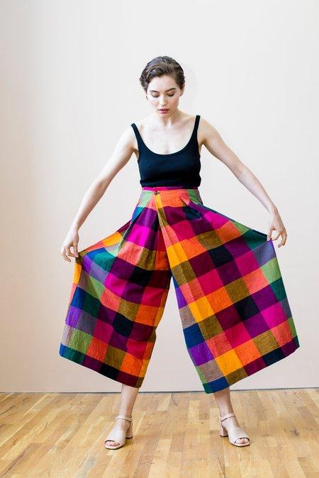 RUJUTA SHETH Frida Pants - Multi Chex
