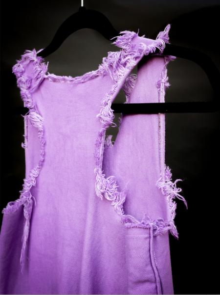 Nahanni Arntzen denim dress - lavendar