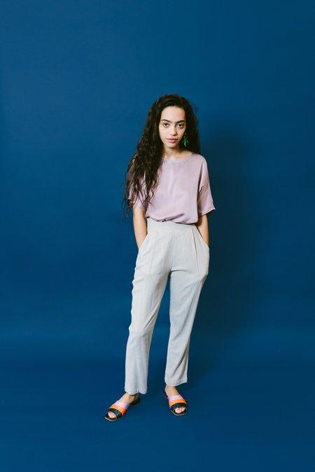 Megan Huntz lane top - lilac