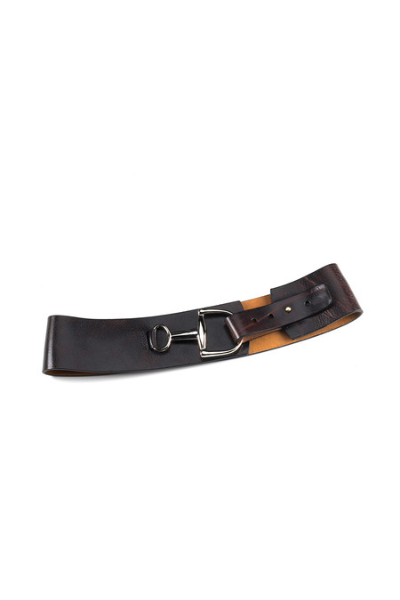 Brave Leather Tamma belt in brown