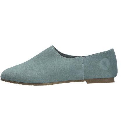 kids lmdi collection ceuta suede shoe - blue