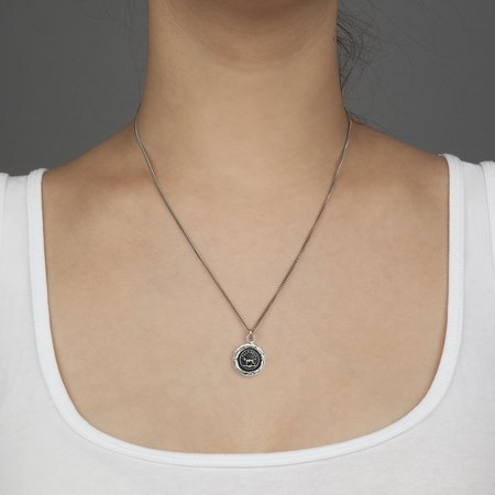 Pyrrha Faithful Friendship Talisman - Silver