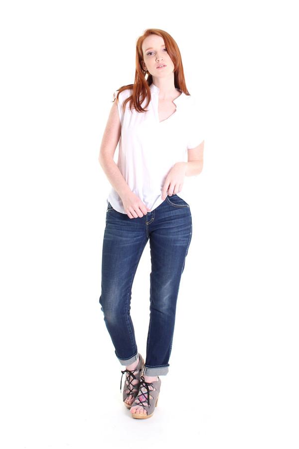 SBJ Austin Vivienne top in white