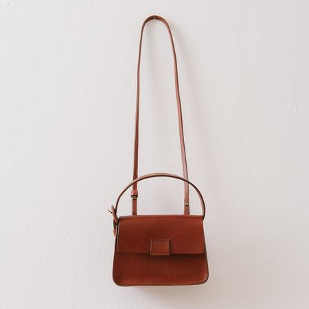 Crescioni Mini Estel Bag - Saddle Brown