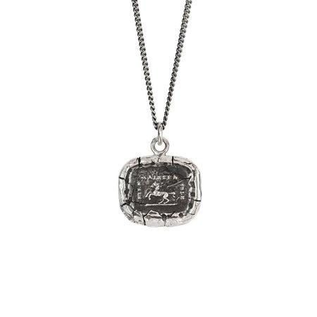 Pyrrha Grace & Intelligence Talisman - Silver