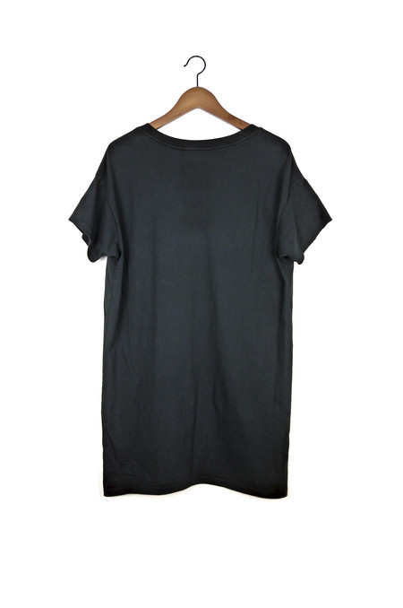 Skargorn #60 Tee Dress - Black Wash