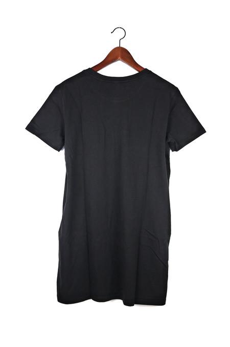 Skargorn #69 Tee Dress, Black Wash