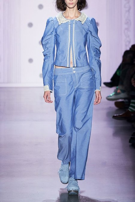 Anna Sui Chambray Jacket
