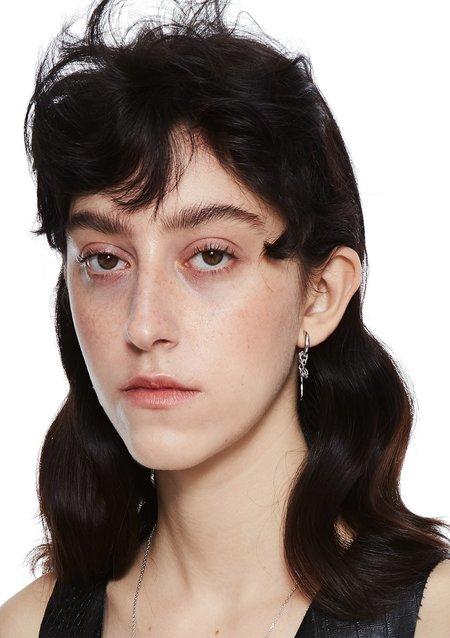 Pre-Order Cough In Vain Pearl Drop earrings - Single