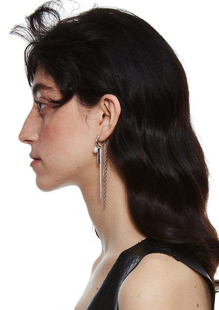 Pre-Order Cough In Vain Pearl Tassel-style earrings - Single