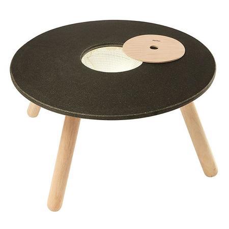 Plan Toys Round Chalkboard Table