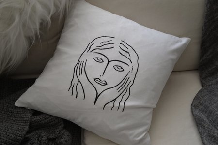 Studio Minimale Girl Pillow