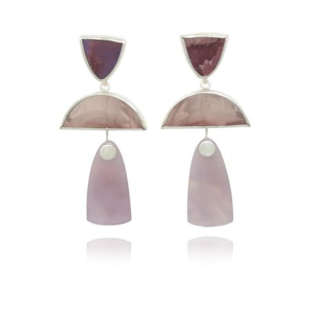 Octave Jewelry TRIO Drops - Lilac Combo