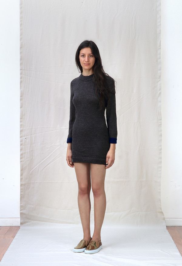 Ete Noir Wool Dress