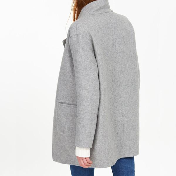 closed reversible coat