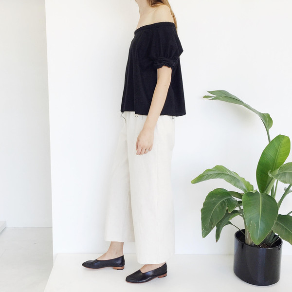 Open Air Museum Natural Cotton Canvas Pant