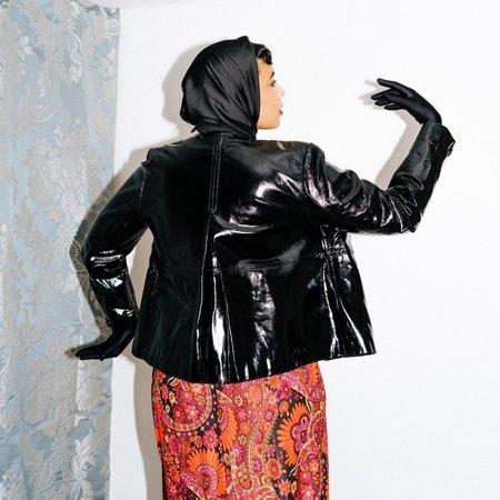 Laura Ashley Kintsugi Leather Jacket - Black