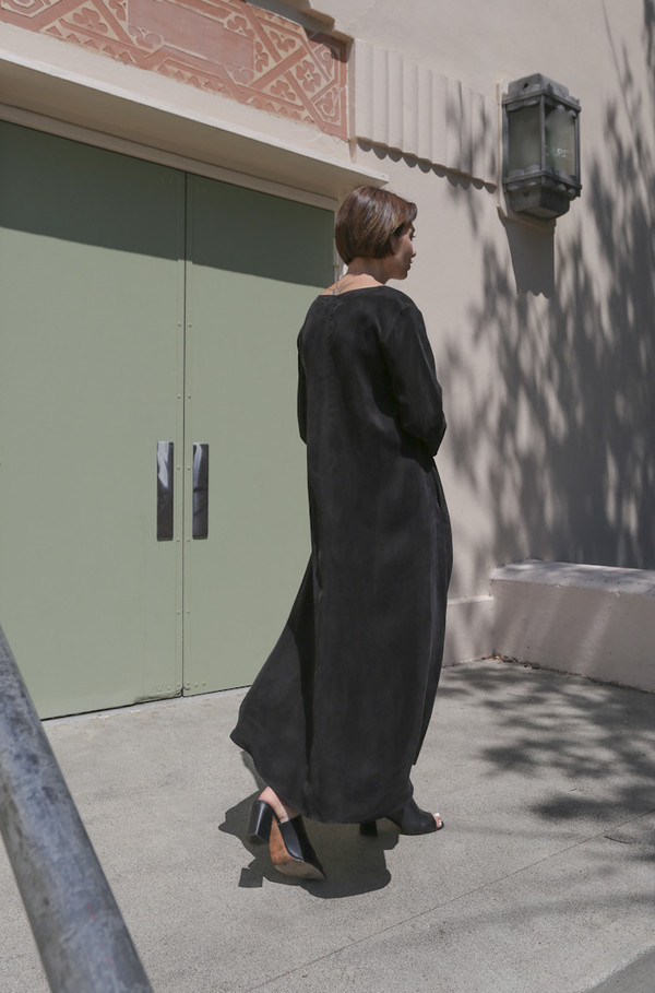 Shaina Mote Rothko Dress in Ink