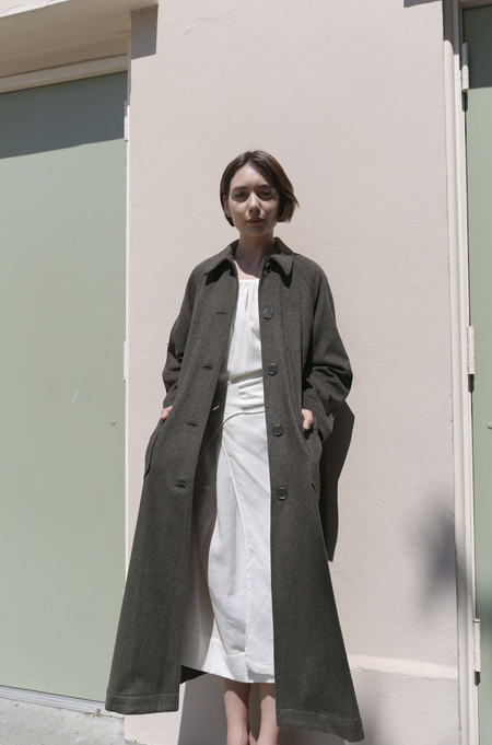 SVILU Lab Coat in Loden