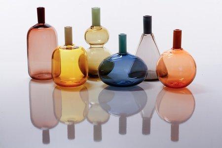 Vitreluxe tube tops vases