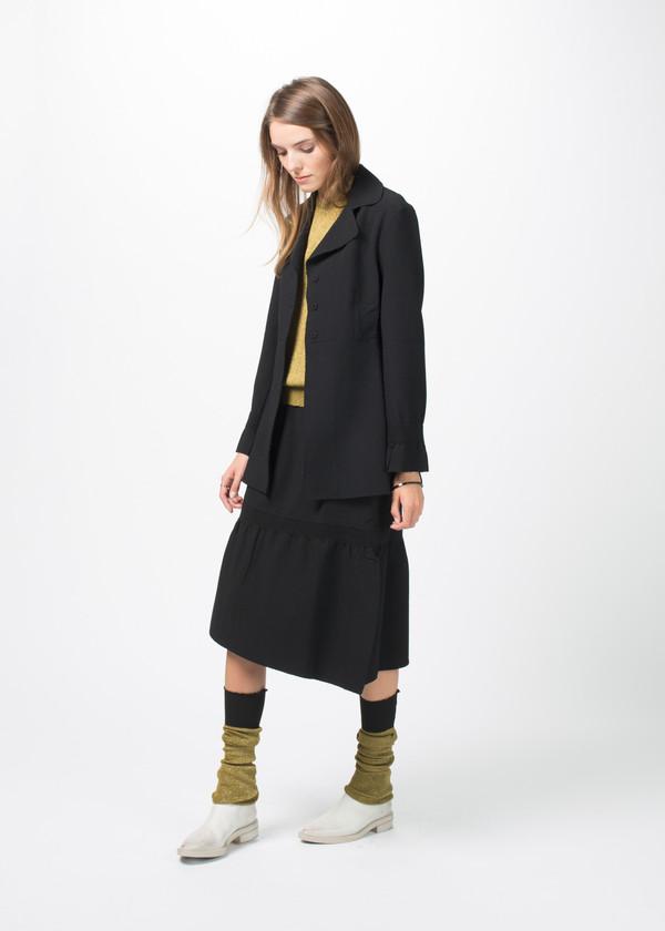 Sara Lanzi Knit Lurex Leg Warmers