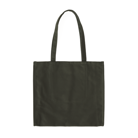MAKR Accordion Tote - Army Green Canvas