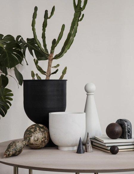 Ferm Living Small Hourglass Plant Pot - Black