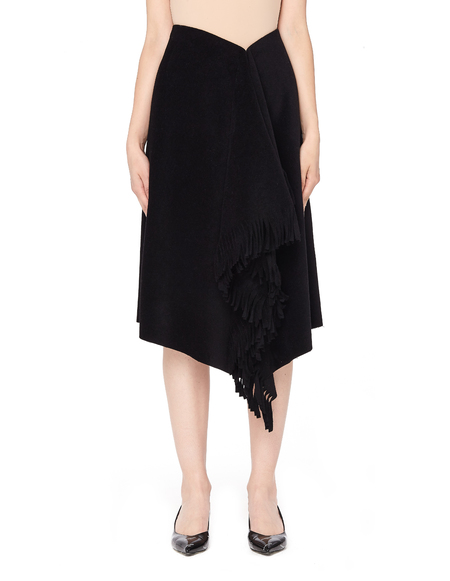 Balenciaga Fringe Skirt - Black