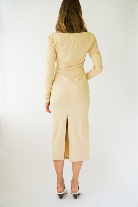 Vintage Body con Dress - nude/beige