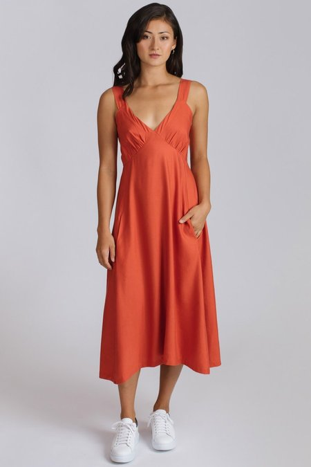 Allison Wonderland Elysées Dress - Red