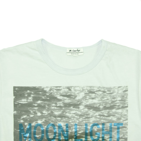 M. CARTER CO. - Moonlight Tee - Ice Water