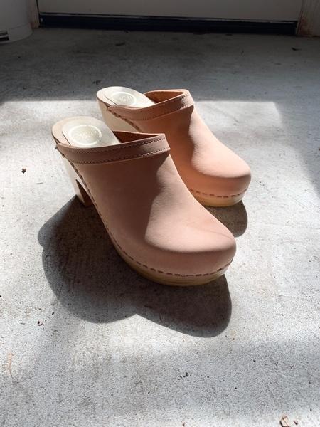 No.6 Old School Clog - Pink Sand