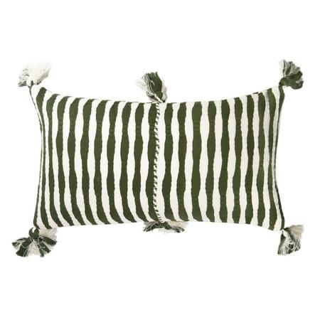 Archive New York Antigua Pillow - Forest Stripe