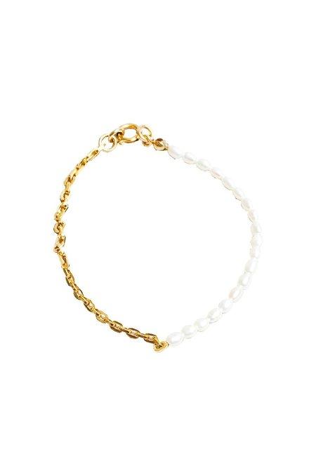 Wolf Circus Effy Bracelet - Gold/Pearl
