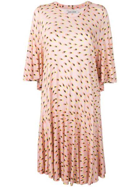 Henrik Vibskov Stream Jersey Dress - Pink