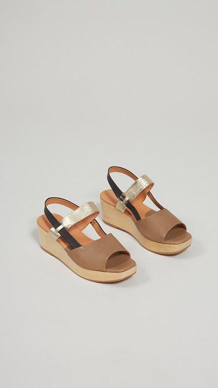 Rachel Comey New Kinta  Vachetta Leather Sandals - Taupe
