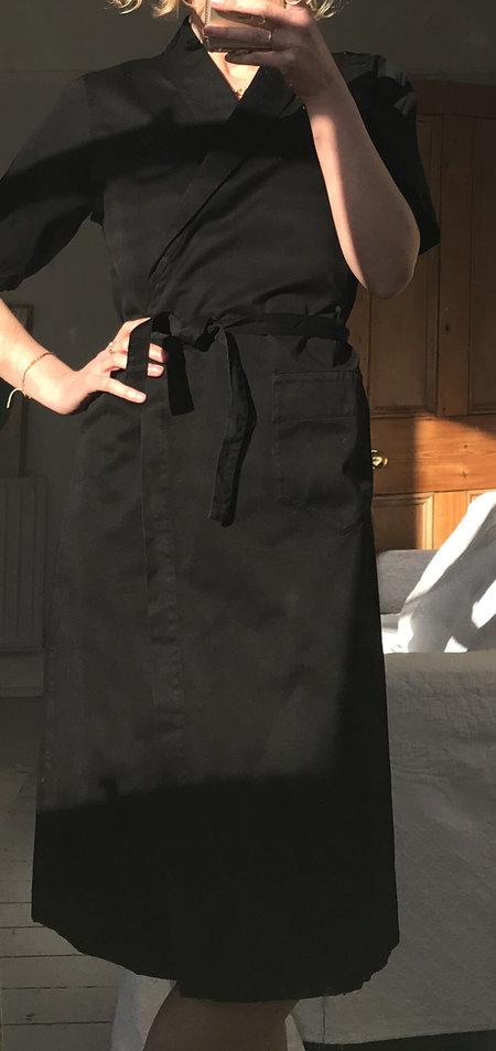 AVN Italy Kimono Dress - Black