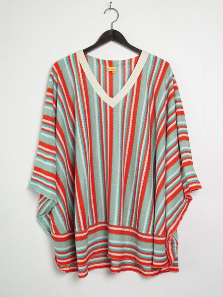 monoplaza kea top stripe - red/green