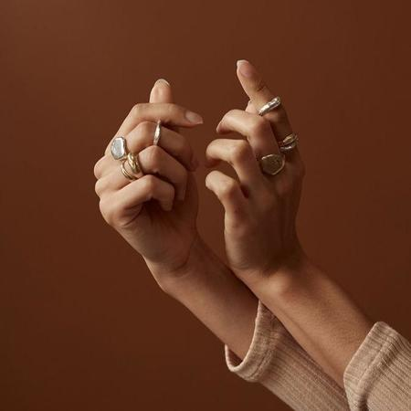 Rebekah J Designs Trust Ring - Sterling Silver