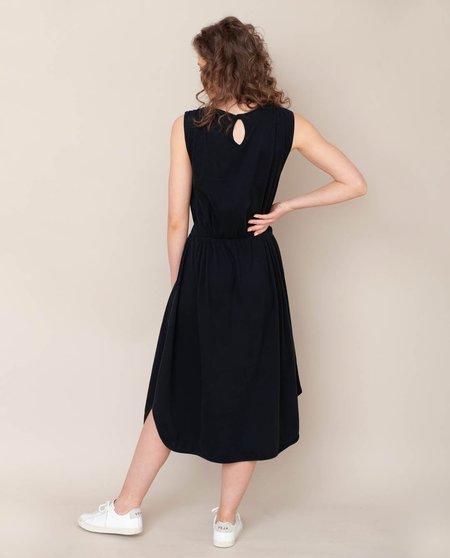 beaumont organic Mulberry Organic Cotton Dress - Black